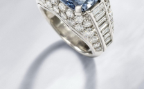 Bulgari Rare Blue Diamond Ring to be Auctioned