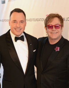 Sir Elton John and David Furnish21st Annual EJAF